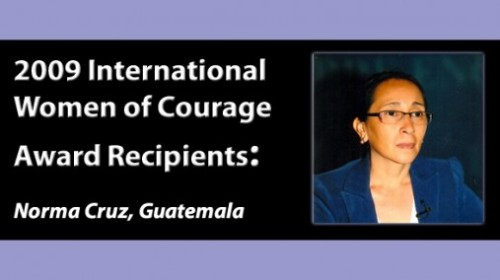 Norma Cruz, photo courtesy of State Department